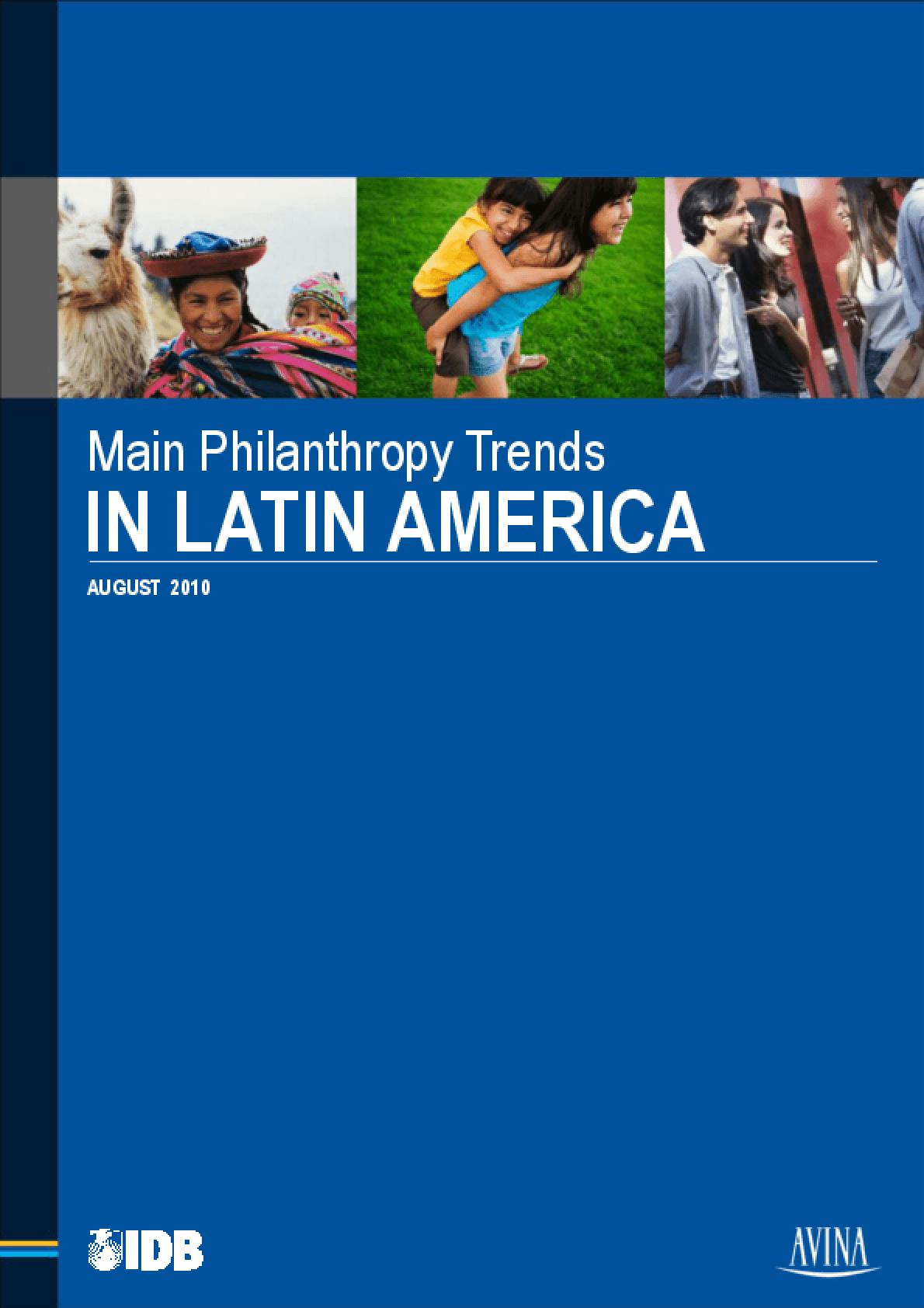 Main Philanthropy Trends in Latin America