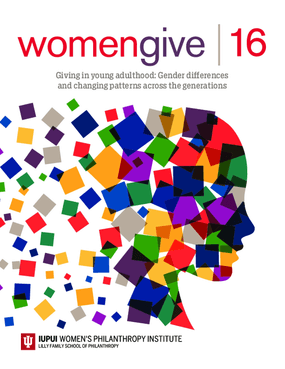 Womengive 16: Giving in Young Adulthood - Gender Differences and Changing Patterns Across the Generations
