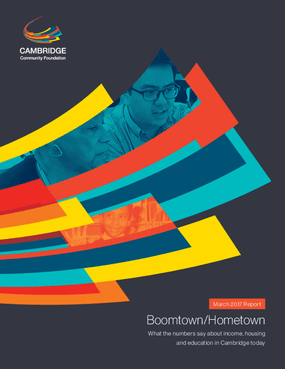 Boomtown/Hometown: What the Numbers Say about Income, Housing and Education in Cambridge Today