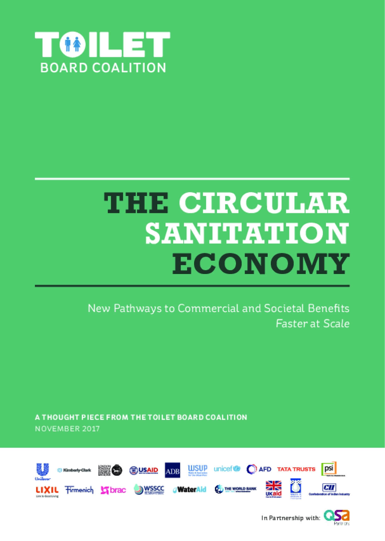 The Circular Sanitation Economy: New Pathways to Commercial and Societal Benefits - Faster at Scale