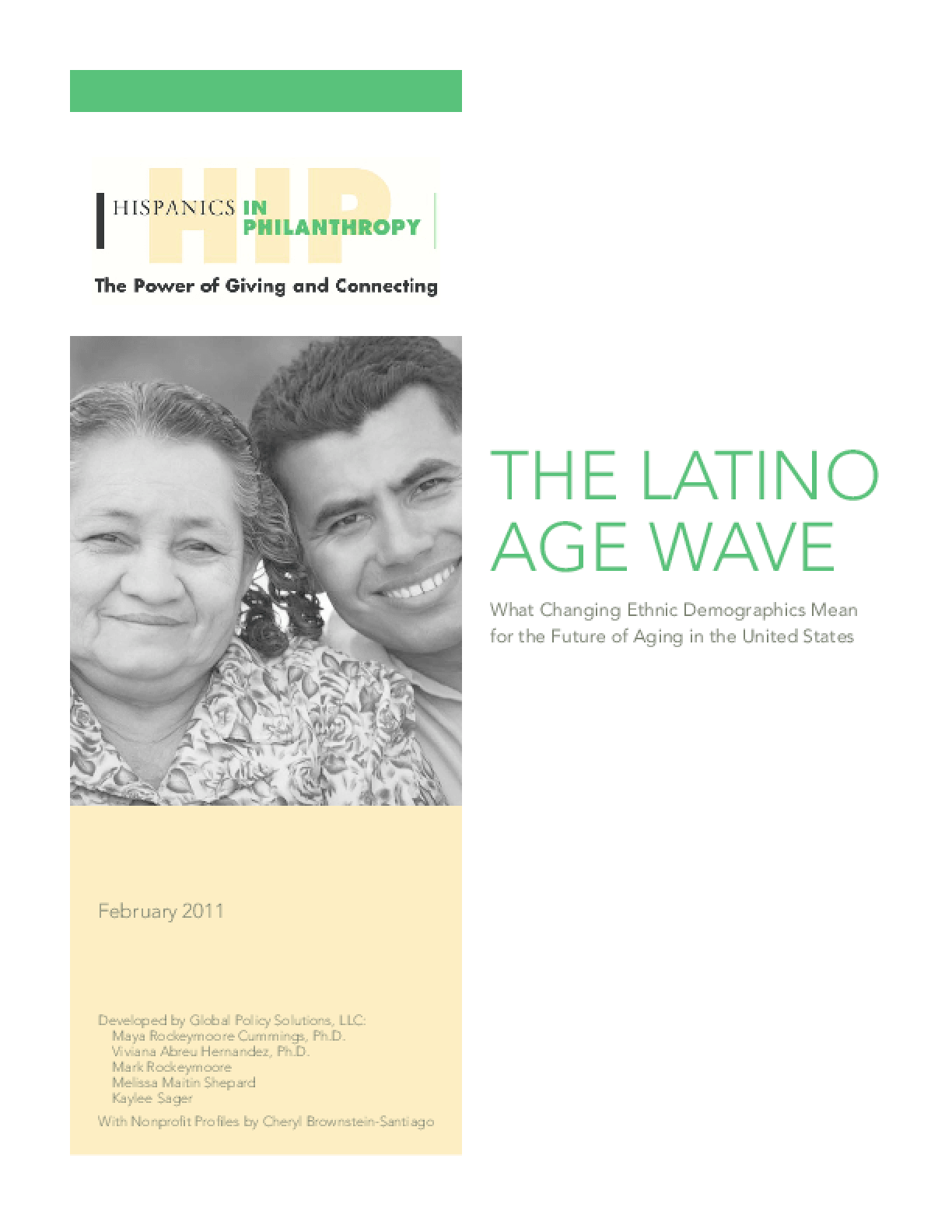 The Latino Age Wave: What Changing Ethnic Demographics Mean for the Future of Aging in the U.S.
