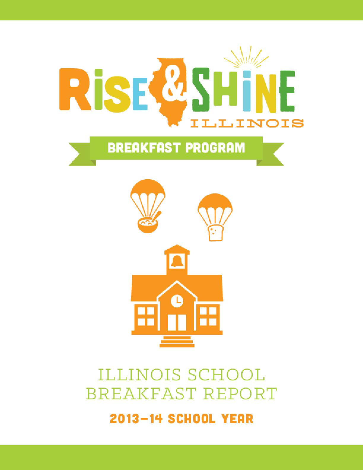 Illinois School Breakfast Report 2013-14 School Year
