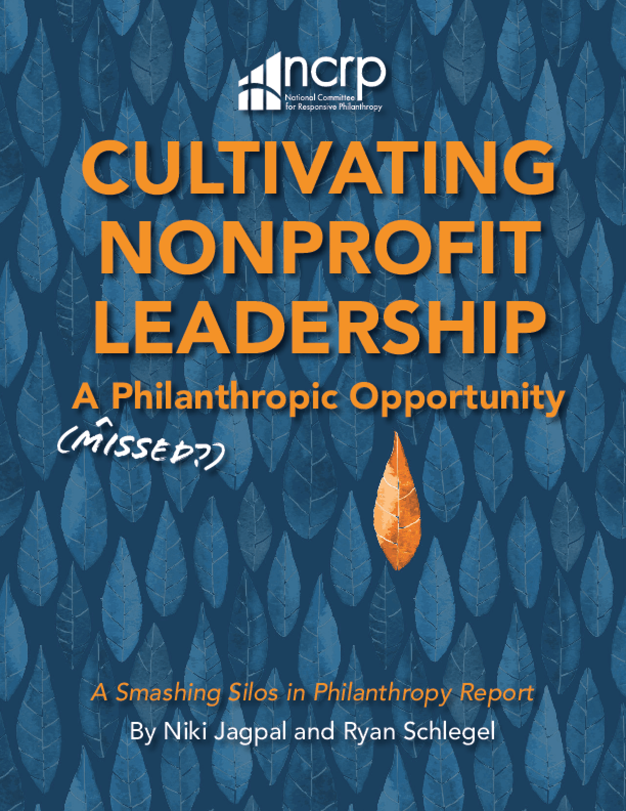 Cultivating Nonprofit Leadership: A (Missed?) Philanthropic Opportunity