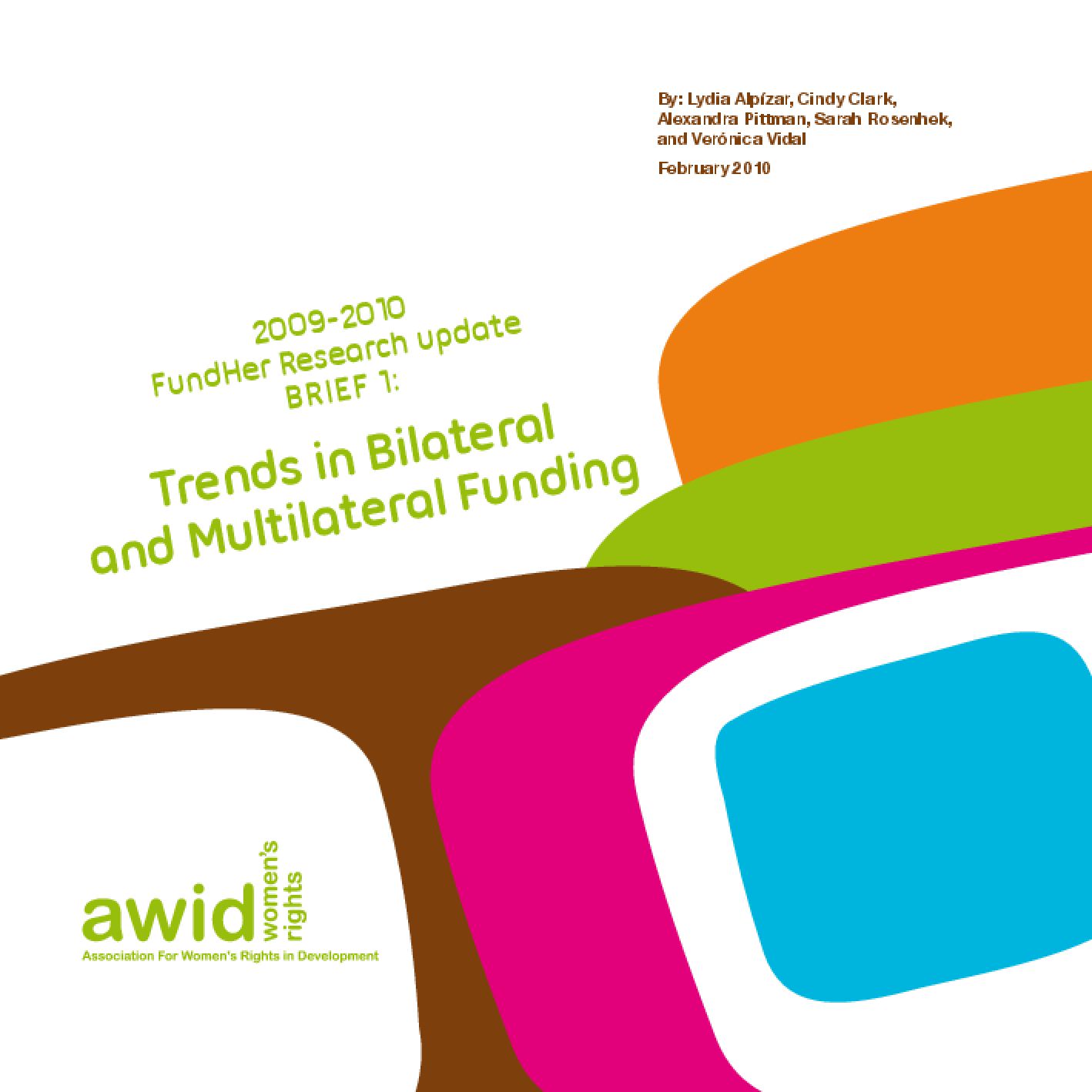 Trends in Bilateral and Multilateral Funding