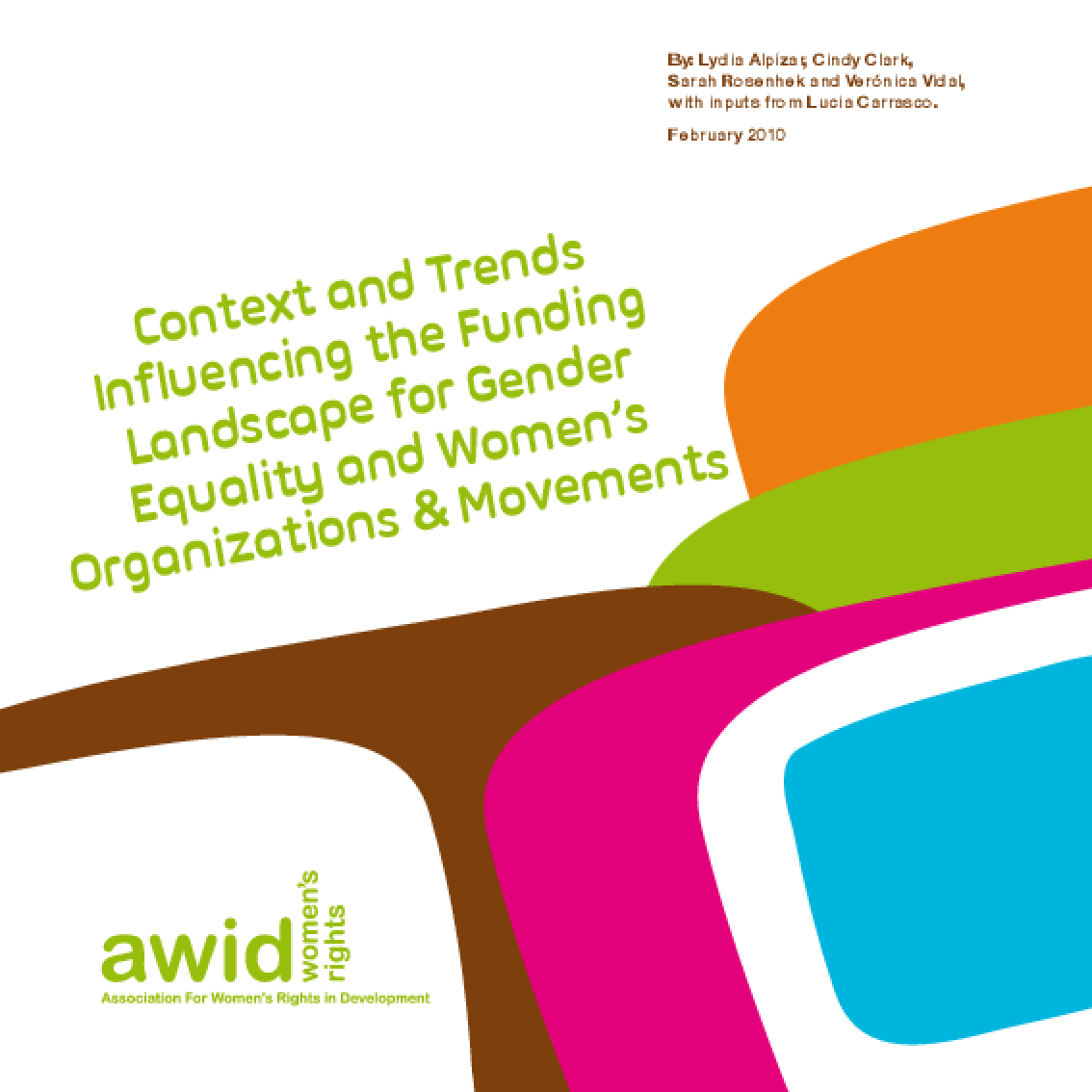 Context and Trends Influencing the Funding Landscape for Gender Equality and Women's Organization and Movements