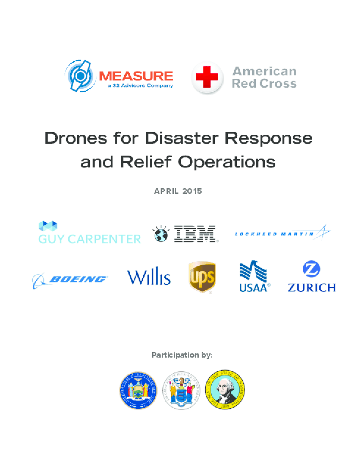 Drones for Disaster Response and Relief Operations