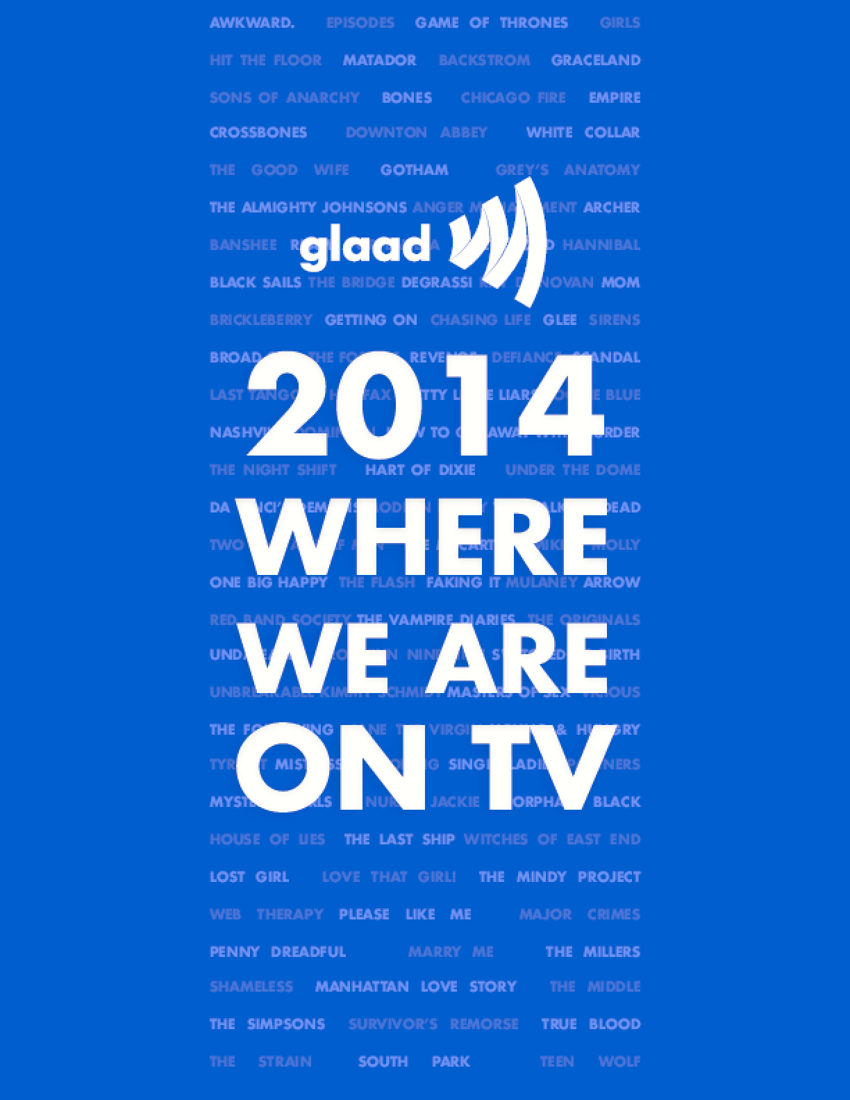 Where We Are on TV Report 2014