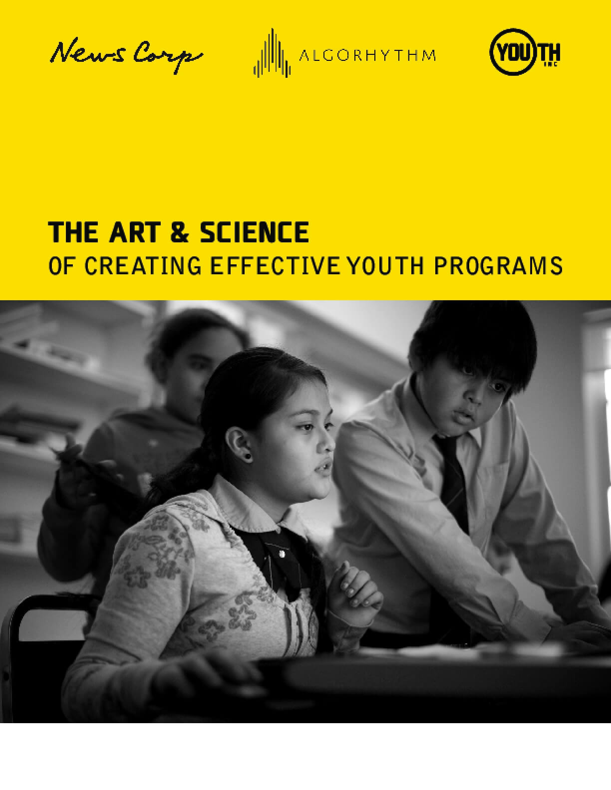 The Art & Science of Creating Effective Youth Programs