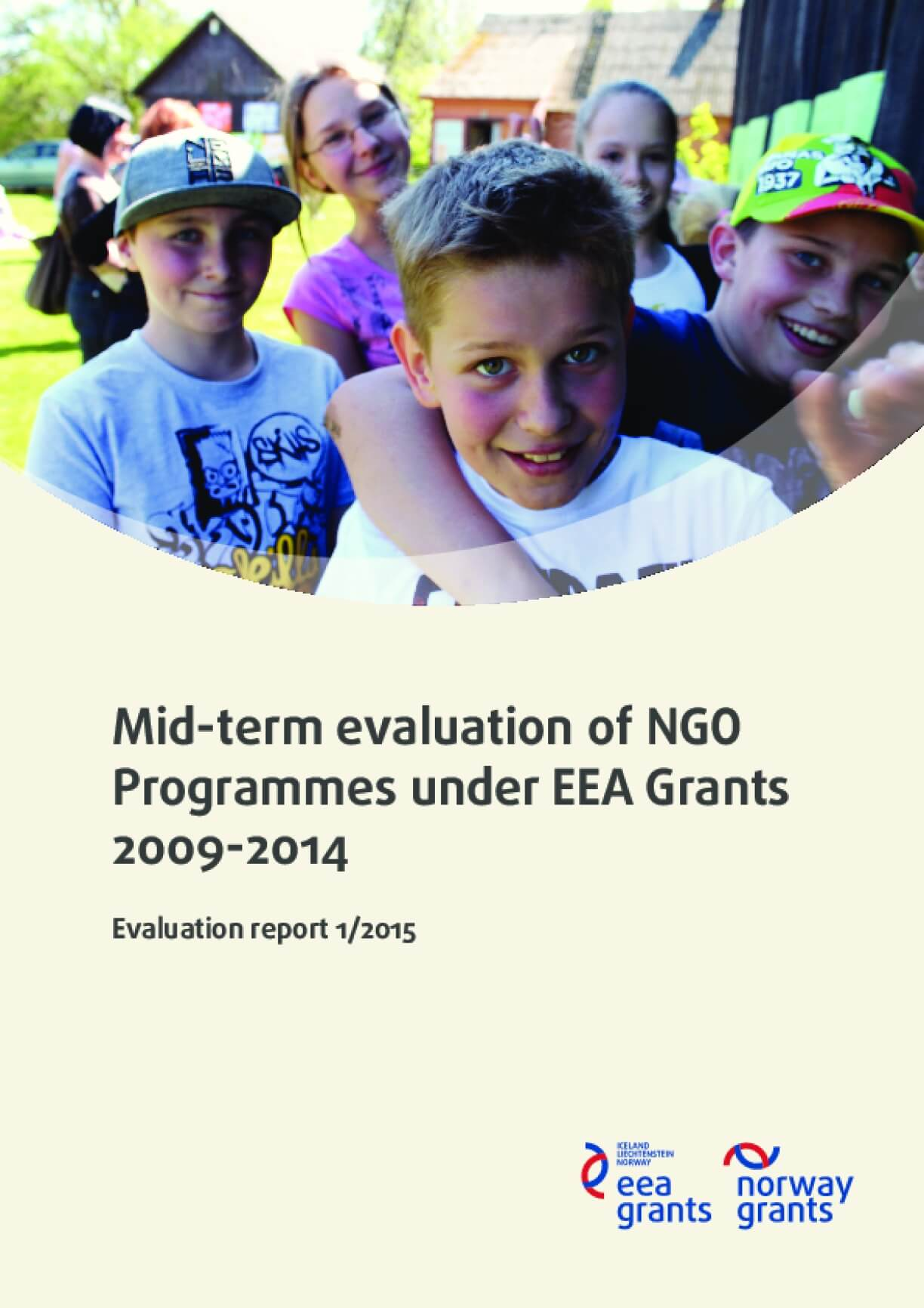 Mid-term Evaluation of NGO Programmes Under EEA Grants 2009-2014