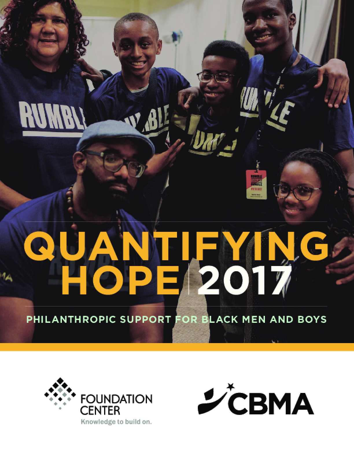 Quantifying Hope: Philanthropic Support for Black Men and Boys, 2017