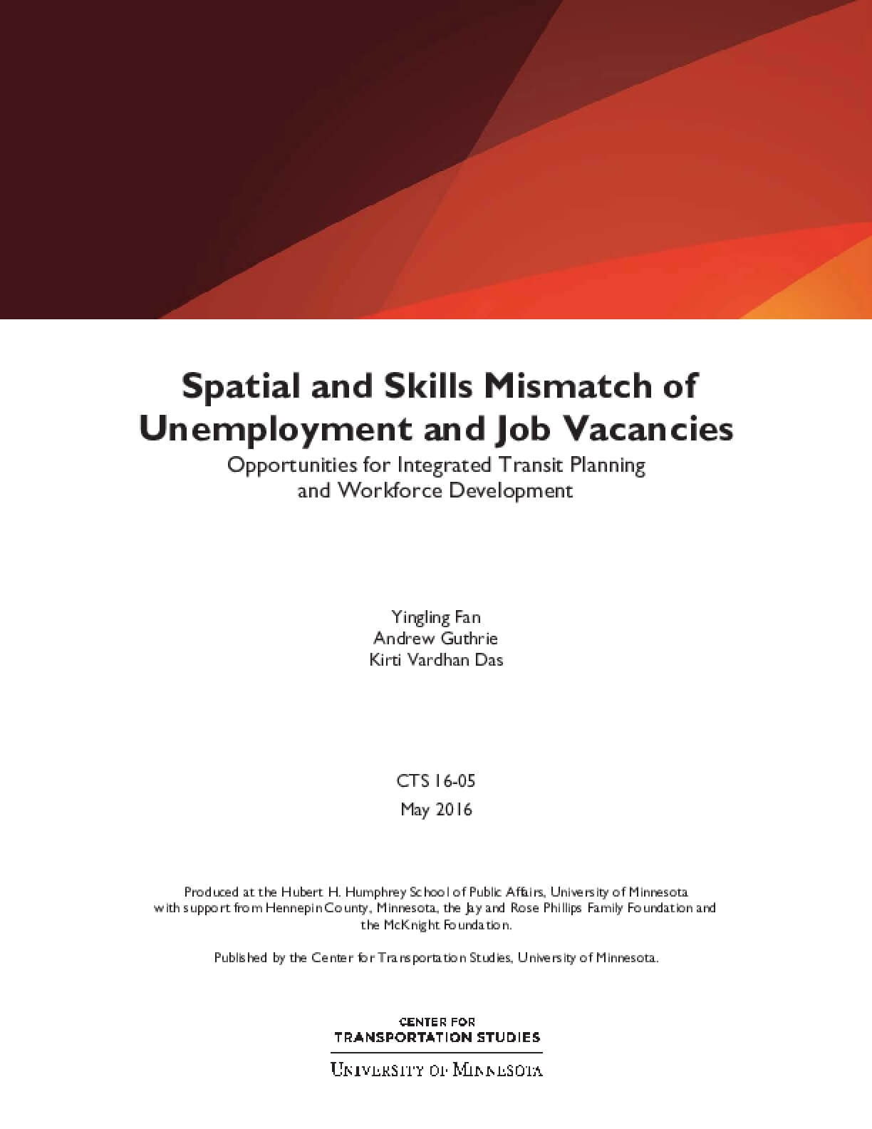 Spatial and Skills Mismatch of Unemployment and Job Vacancies