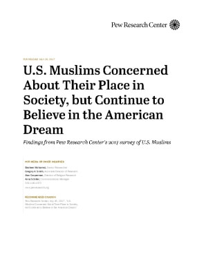 U.S. Muslims Concerned About Their Place in Society, but Continue to Believe in the American Dream