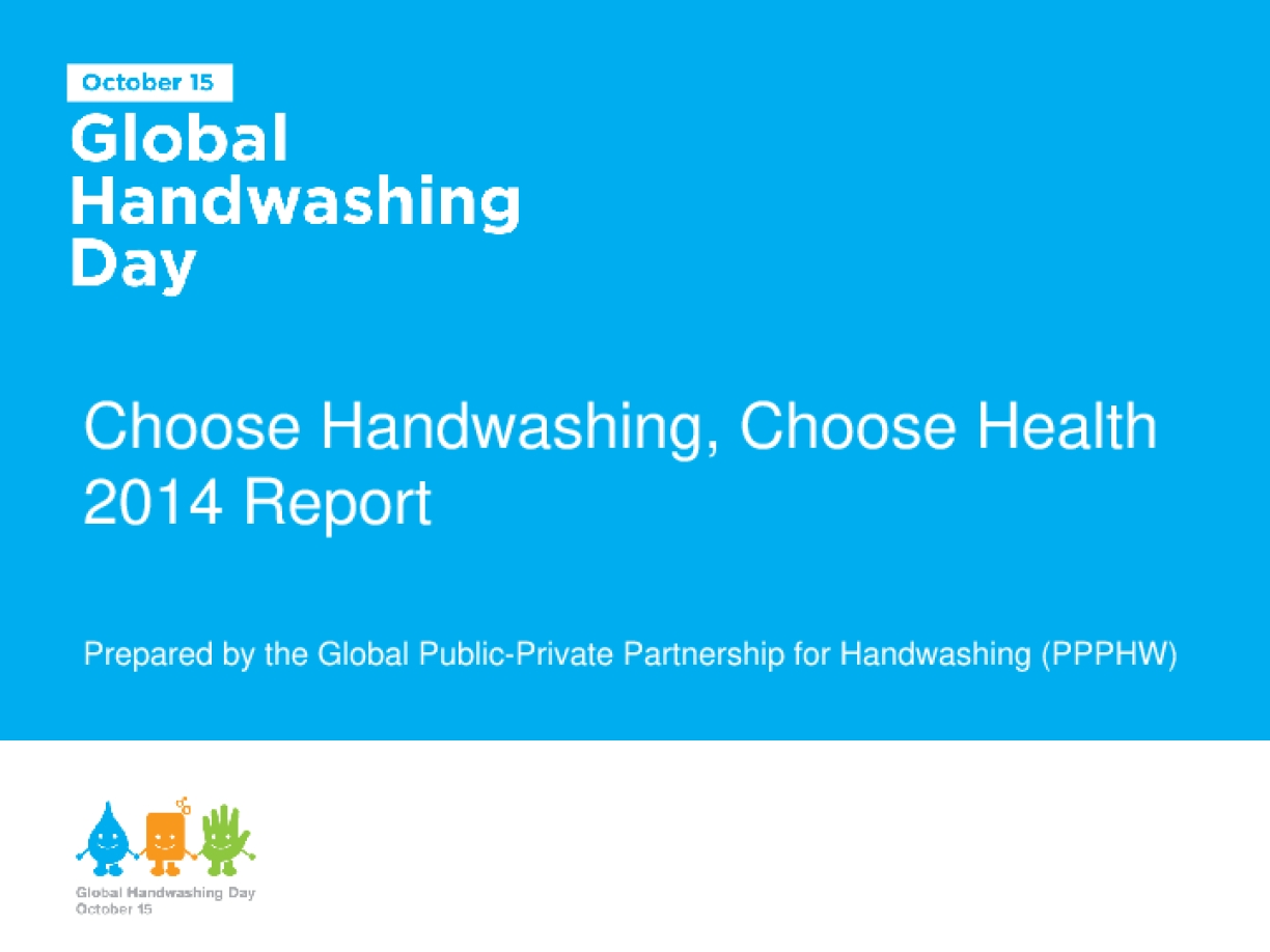 Global Handwashing Day 2014 Report