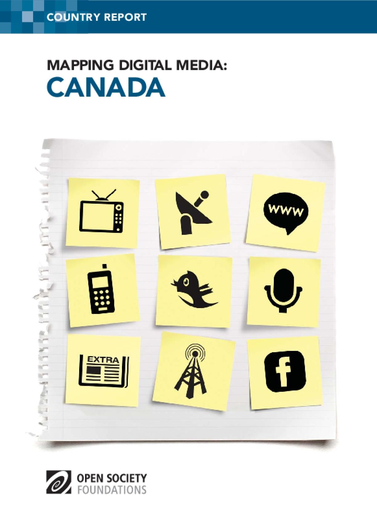 Mapping Digital Media: Canada