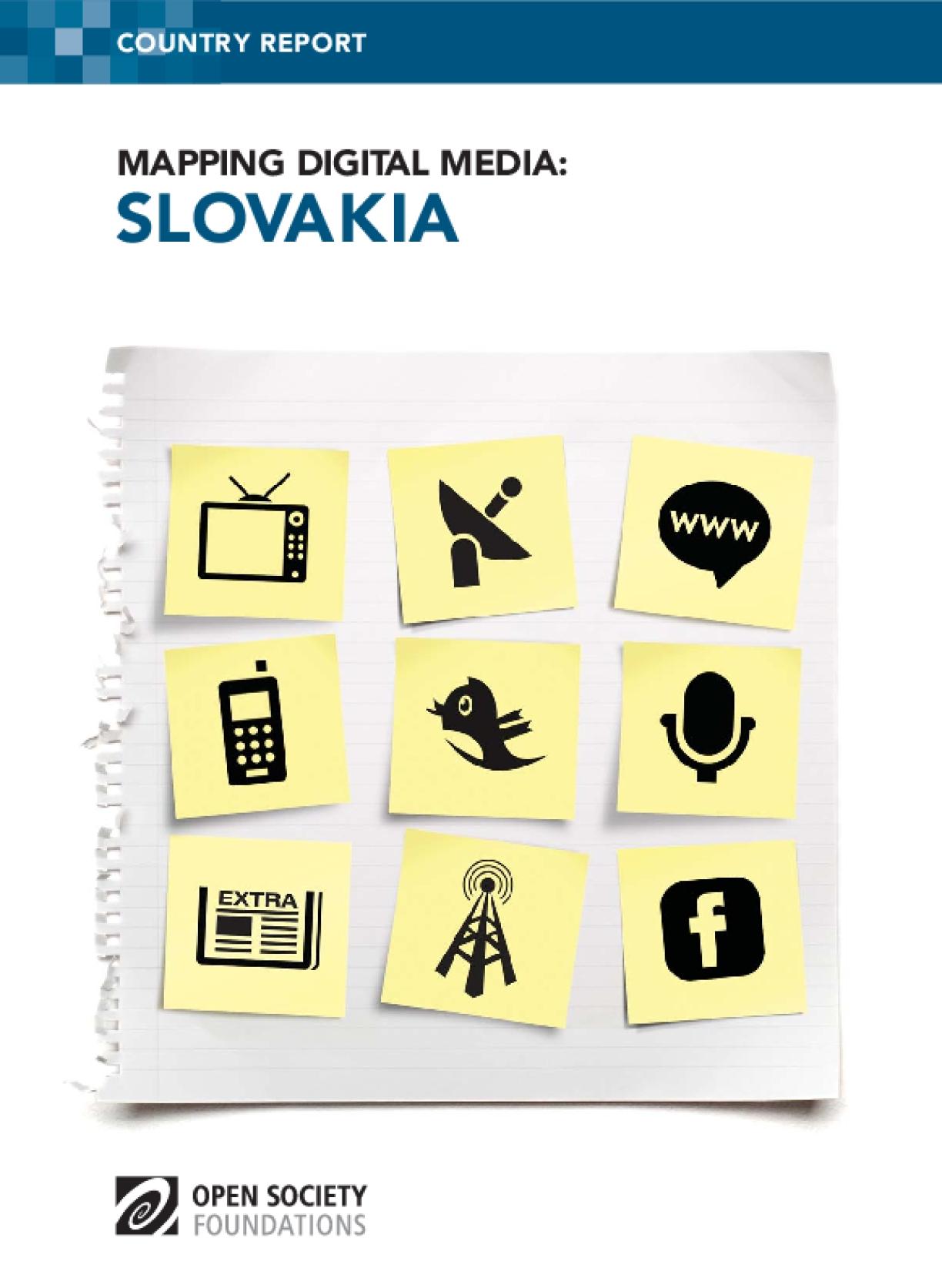 Mapping Digital Media: Slovakia