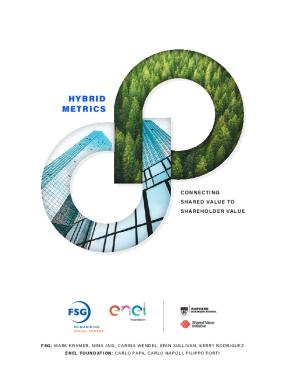 Hybrid Metrics: Connecting Shared Value to Shareholder Value