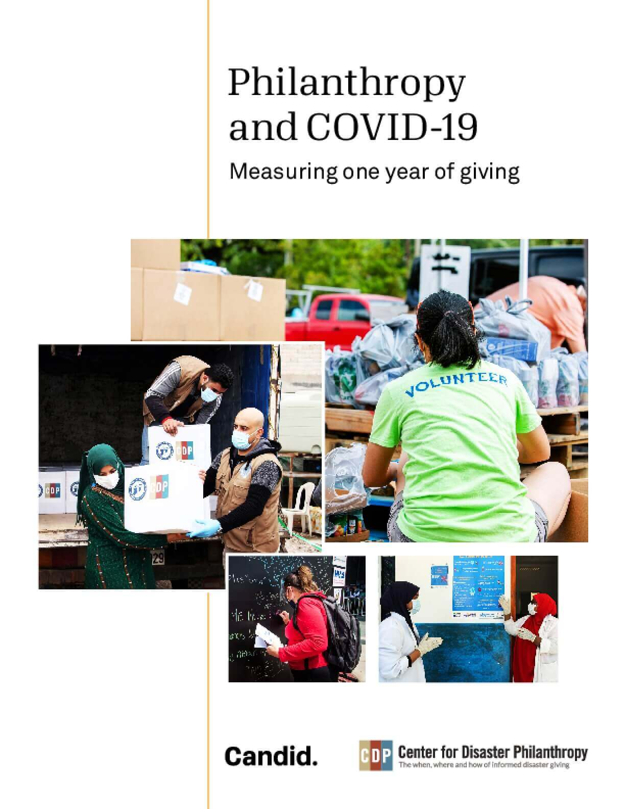 Philanthropy and COVID-19 in 2020: Measuring One Year of Giving