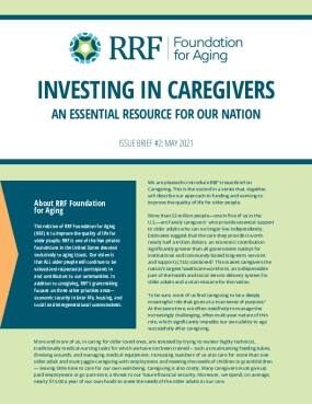 Investing in Caregivers: An Essential Resource for Our Nation